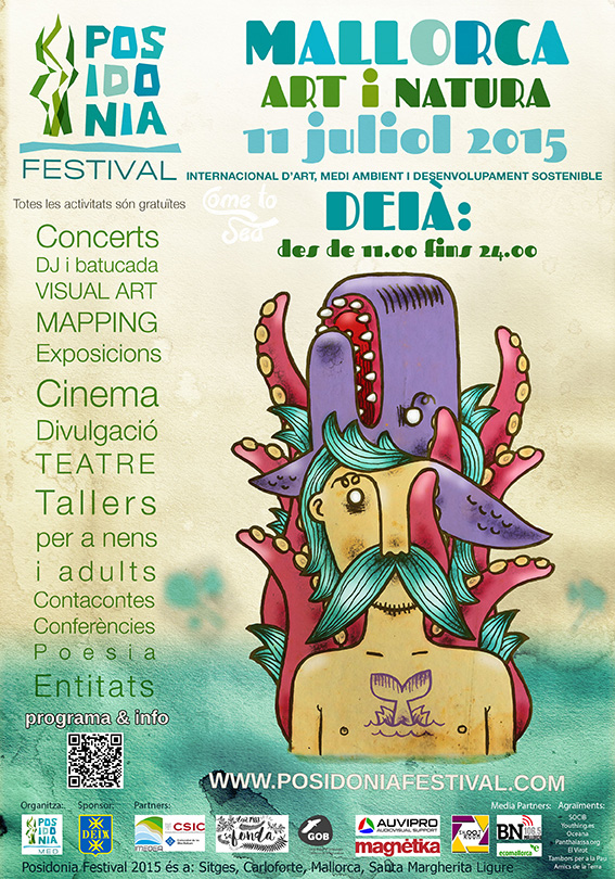 Poster Posidonia Festival Sitges 2015