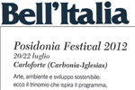 Press Revie Posidonia Festival Carloforte 2012