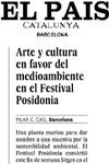 Press Review Posidonia Festival Sitges 2012