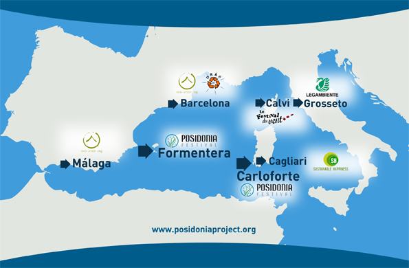 Map Posidonia Project